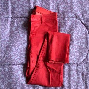 Red J Brand Super Skinny Jeans
